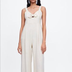Zara Knotted Jumpsuit Tank